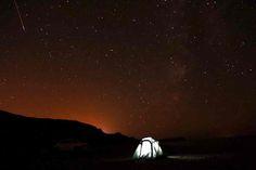 Van, Turkey: The Perseid meteor shower occurs every August