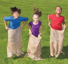 LA Linen Burlap Potato Sack Race Bags 23 x 40 Pack of 6 in Collectibles, Linens & Textiles Feed & Flour Sacks Fall Party Games, Fall Games, Fall Carnival Games, Camping Party Games, School Carnival Games, Fall Festival Party, Harvest Festival Games, Fall Festival Activities, Fall Festival Decorations