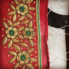 Best Blouse Designs, Simple Blouse Designs, Sari Blouse Designs, Bridal Blouse Designs, Mirror Work Blouse, Aari Work Blouse, Zardosi Work, Embroidered Blouse, Hand Embroidery