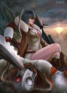 Devil May Cry - Lady