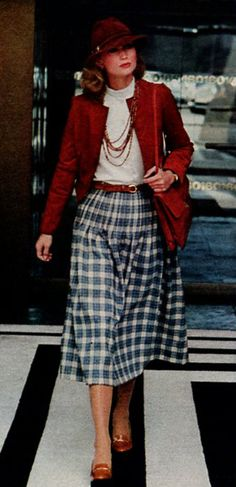 McCall's - September, 1977 1977 Fashion, September, Style, Swag, Outfits