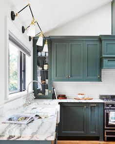 Uplifting Kitchen Remodeling Choosing Your New Kitchen Cabinets Ideas. Delightful Kitchen Remodeling Choosing Your New Kitchen Cabinets Ideas. Kitchen Interior, Home Decor Kitchen, House Design, Interior, Home Decor, Farmhouse Kitchen, Kitchen Cabinet Colors, Kitchen Renovation, Kitchen Design