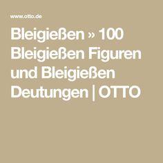 Bleigießen » 100 Bleigießen Figuren und Bleigießen Deutungen   OTTO