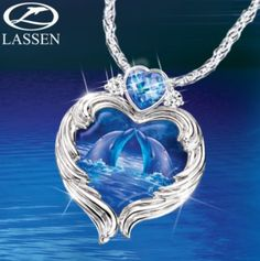 Mothers Day Poems: Diamond Dolphin Pendant: Exquisite and Alluring