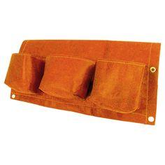 Rectangular Deck Rail 6 - Pocket Hanging Planter Bag - Tequila Sunrise - Bloem