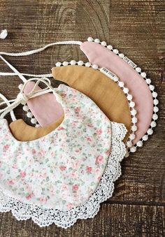 Handmade baby drool bibs sold on Etsy by BillyBibs Baby Outfits, Kids Outfits, Handgemachtes Baby, Baby Kind, Diy Baby, Baby Girls, Baby Sewing Projects, Sewing For Kids, Boho Baby Kleidung