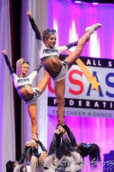 Cheer Athletics Panthers 2015