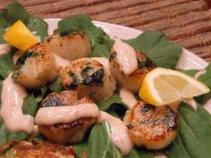Caramelized Scallops with Smoked Chili Cream - Essential and Charming ...