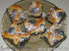 Croatian Recipes, Hungarian Recipes, Poppy Seed Cookies, Torte Cake, Holiday Desserts, French Toast, Deserts, Pie, Sweets