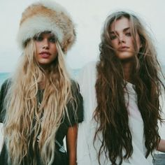 LET IT BE -- pinning for the girl on the right's hair. Amazin'.