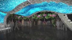 philadelphia flower show 2012 | PHS Philadelphia Flower Show 2012 Central Feature Design Animation by ...