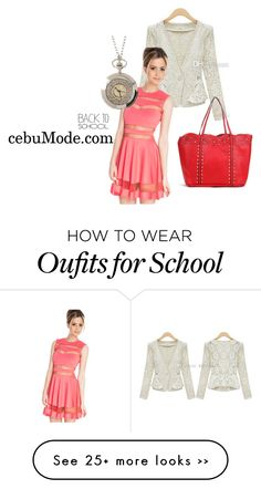 """Back to School Fall Jackets 11"" by cebumode on Polyvore"