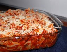 My mom makes this and it's very, VERY good! I'm thinking about trying it tonight or sometime this week...for sure. :)