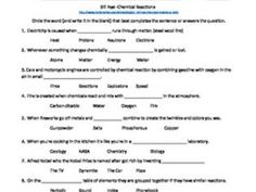 Bill Nye: Chemical Reactions Video Sheet by bmw2182 - Teaching Resources - TES
