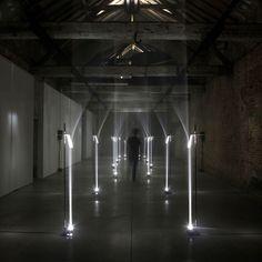 Troika: Arcade (2012) 'Arcades' is a site specific installation for Future Primitives, Biennale Interieur 2012, Kortrijk Belgium.