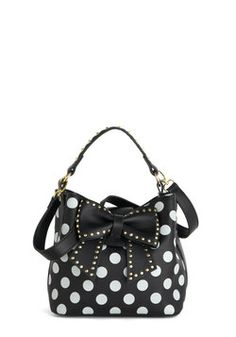 Betsey Johnson Outfit of the Daring Bag, #ModCloth