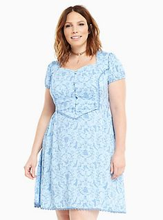 Skull Lattice Swing Dress | Torrid | fantasy closet. | Pinterest ...