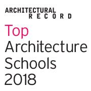 Did your alma mater make the list? Top Architecture Schools, as selected by Architectural Record.