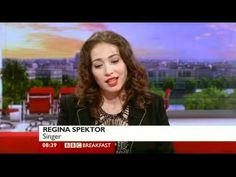 Regina Spektor Small Town Moon Interview BBC Breakfast 2012 The more you try to deconstruct  music the more you ruin it as a whole, like handeling a fine lace.  To Regina, trying to write a song would be a  disgusting experience because you should only make art if your inspired, not being manipulative.