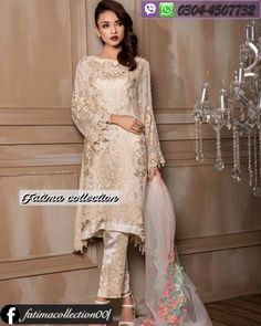 53a6b2105b Divine Ecstasy Diamond Dust Pakistani Casual Wear, Pakistani Outfits, Eid  Dresses, Indian Dresses