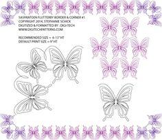 Flutter By Border & Corner by Stephanie Schick SASPANTO09BNCPR