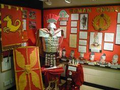 Fab Romans display Teaching Displays, Class Displays, School Displays, Classroom Displays, History Classroom, Teaching History, Ancient Rome, Ancient History, Romans Ks2