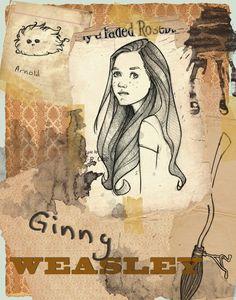 Ginny Weasley by Ninidu.deviantart.com on @deviantART
