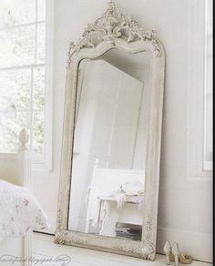 Love this full length vintage mirror