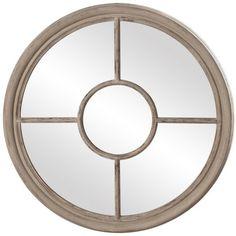 DecRenew: Howard Elliott 56014 Desmond Traditional Round Mirror HWE-56014
