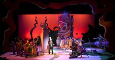 "Scenic Design for ""Seussical the Musical"" on Behance"