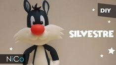 DIY para hacer a Silvestre en porcelana fría