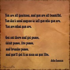 You are all~