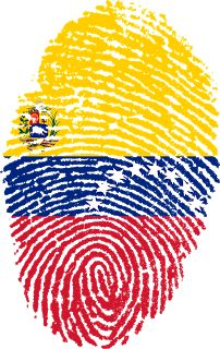 'Venezuela Fingerprint' by Atzerom Colombia Flag, Vintage T-shirts, Summer Patterns, Lonely Planet, South America, Beach Mat, Outdoor Blanket, Clip Art, History
