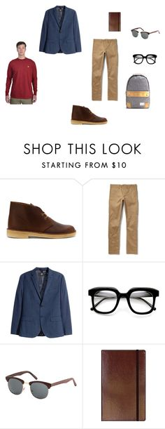 """""""Ian Marko Set 1"""" by derwin-hargrave on Polyvore featuring Clarks, RRL, women's clothing, women's fashion, women, female, woman, misses and juniors"""