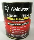 Dap 1 Gallon Weldwood Original Contact Cement Interior Exterior Fast Drying Tan In 2020 Contact Cement Fast Drying Cement