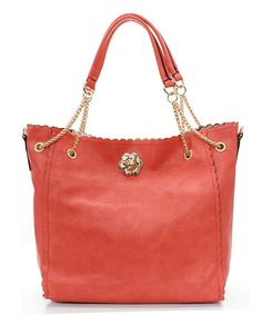 Love the color of this tote!
