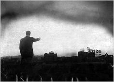 Detonación nuclear vista desde Los Ángeles