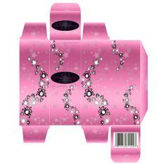 Perfume box design for school project by Renata Kiraly, via Behance