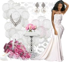 """""""White formal"""" by especiallyfmtu ❤ liked on Polyvore"""