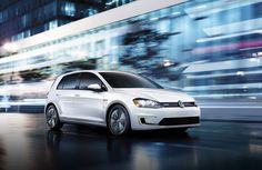 Presenting the e-Golf. It's everything you love about Golf, in electric form.