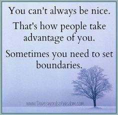 Laws That Should Totally Be Real I have always said this! Set healthy boundaries in ALL relationships. Girl friends, in laws..... Sometimes the relationship grows stronger, and sometimes it doesnt  thats ok.... Moving forward they know their boundaries. And will gain respect for you.