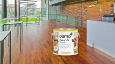 Osmo Cleaning and care for wooden floors, hardwax-oil as natural