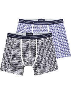 2-Pack Patterned Boxer Shorts
