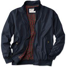 Weatherbreaker Jacket / Weatherbreaker Jacket ($134) ❤ liked on Polyvore featuring men's fashion, men's clothing, men's outerwear, men's jackets, mens long jacket, mens travel jacket, mens light weight jackets and mens lightweight jacket