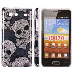 Mobilskalet iConic (Stor Dödskalle) Samsung Galaxy S Advance-Skal