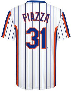 Mike Piazza New York Mets Coop Poly Player T-Shirt b3242ff2c