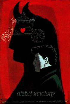 Józef Mroszczak / Diabel wcielony / French film poster, 1956 | Flickr