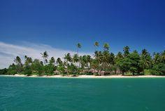 The Naka Island Beach
