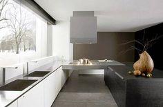 Minimalist Black and White Kitchen Design by Italian Design Futura Cucine 5