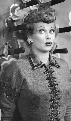 "Remember This Scene??    From the ""I Love Lucy"" episode, ""Lucy Tells the Truth"" - 1953"